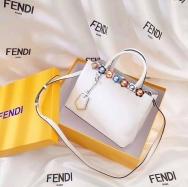 Luxurious white Fendi bag. NGN 100,000