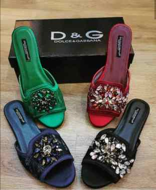 Dolce and Gavana slippers. NGN 30,000