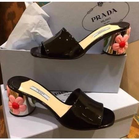 Prada patent slippers NGN 35000