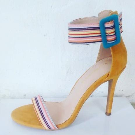 Yellow Shoe Republic sandals. NGN 10000
