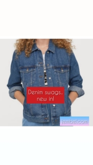 H and M blue enim jackets NGN 8000