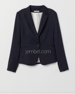 H and M black blazers with turn up sleeves option. NGN 9000