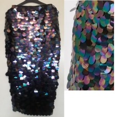 Sequin midaxi skirt by Missguided. NGN 18000
