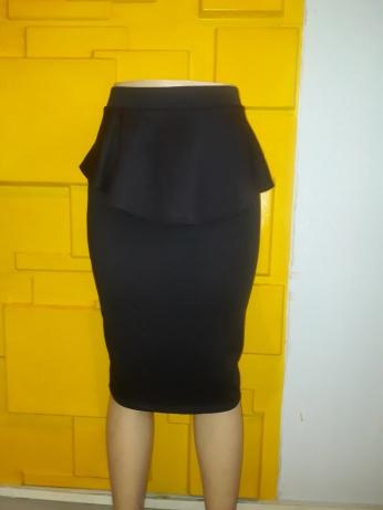 Black peplum skirt. NGN 7000