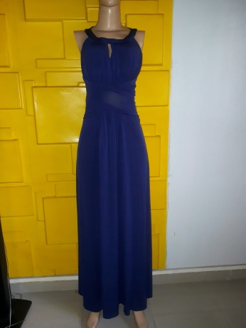 Gorgeous Navy blue maxi dress. NGN 15000