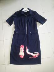 Navy blue dress . NGN 11000