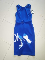 Royal blue dress by Guess. NGN 13,500