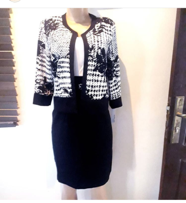 Two piece dress suit. NGN 18000